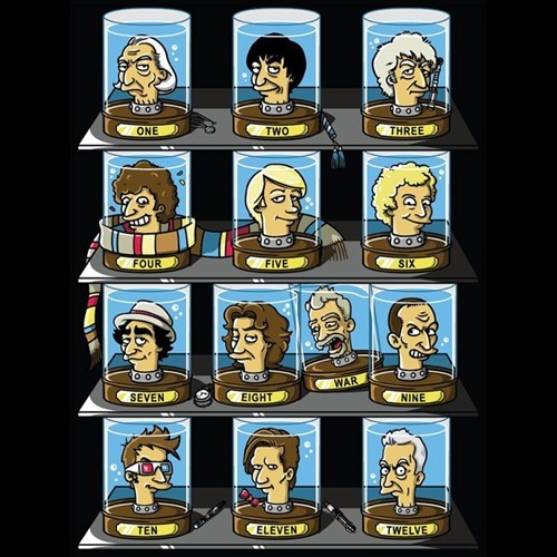 tshirts doctor who regeneration futurama - 8390495232