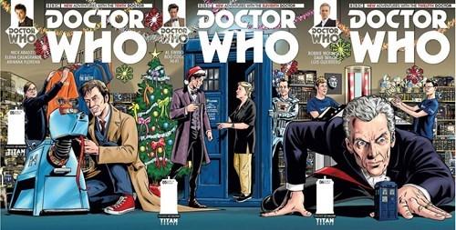 christmas comic books the doctor - 8390547456