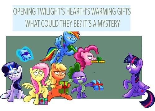 christmas twilight sparkle book pony - 8390559744