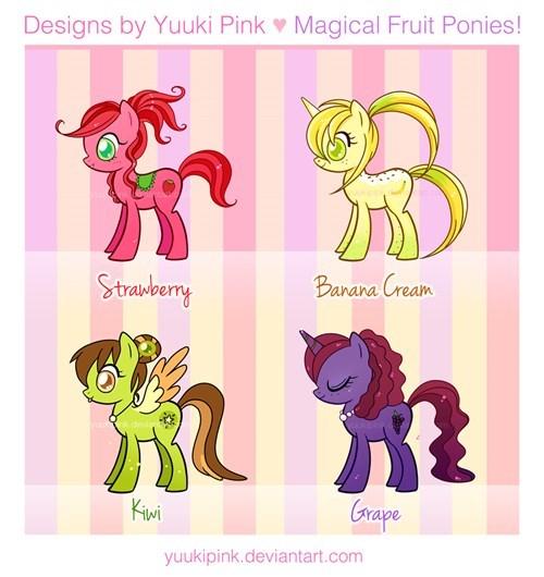Fan Art cutie mark MLP fruit - 8390566912