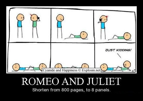 comics funny romeo and juliet - 8390622208