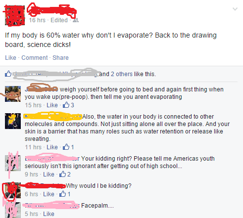 school,facebook,science