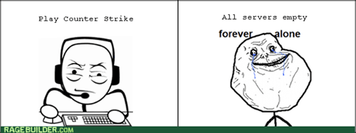 forever alone video games - 8390750464