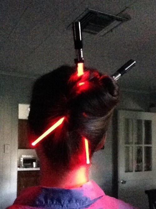 hair light saber star wars poorly dressed g rated - 8390842368