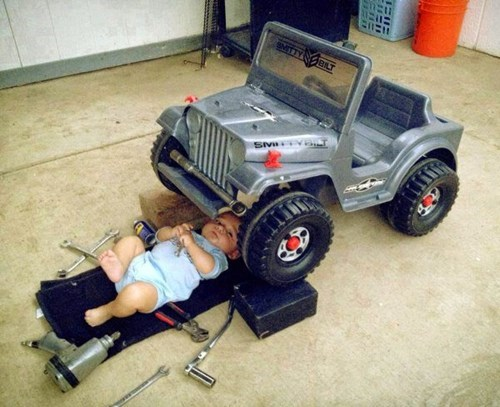 baby,cars,parenting,mechanic,g rated