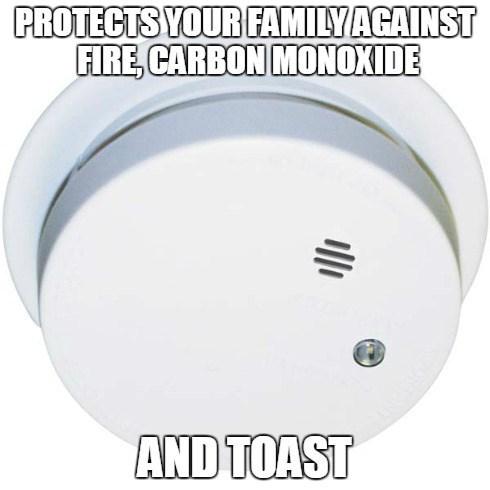 carbon monoxide,smoke alarm