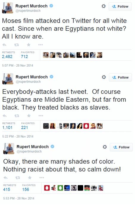 twitter racism whoops Rupert Murdoch - 8390963200