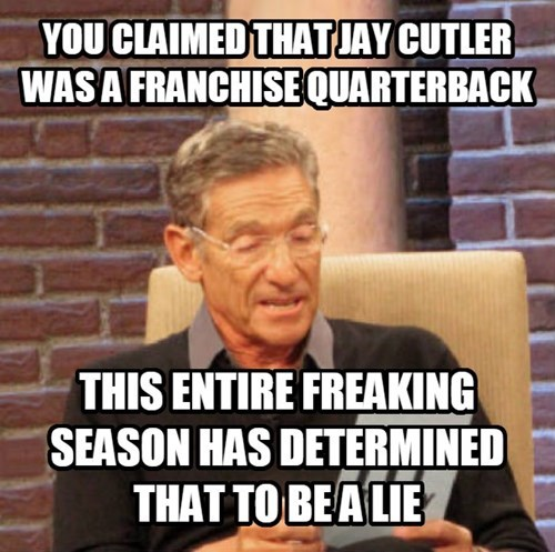 jay cutler nfl chicago bears football maury - 8390980608