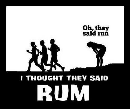 run Rum funny - 8391030016