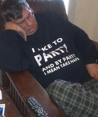 nap poorly dressed t shirts Party sleeping - 8391052544