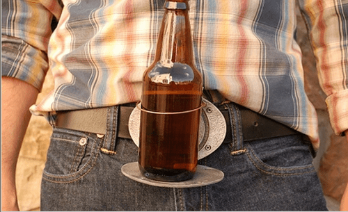 beer belt buckle poorly dressed belt - 8391061504