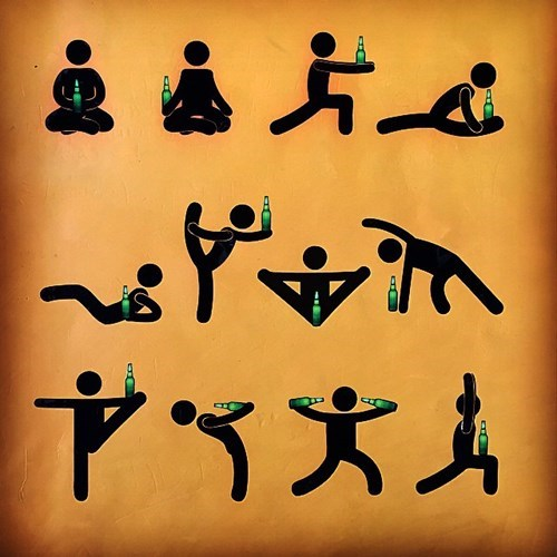 beer limber funny stretch - 8391092480