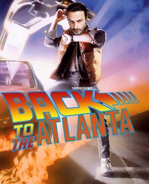 Rick Grimes back to the future Atlanta - 8391145728