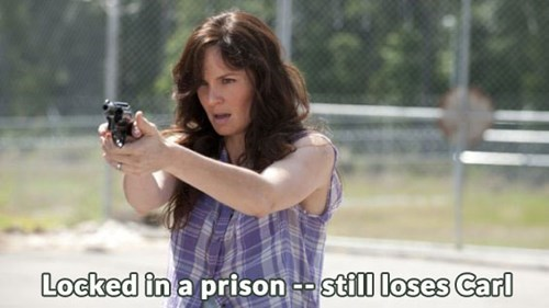 where-s-carl,prison life,lori grimes
