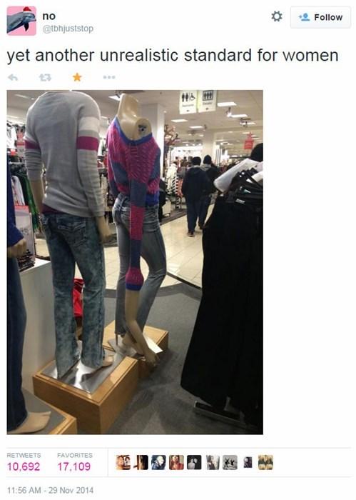 fashion twitter mannequin - 8391350784