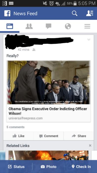 ferguson fake hoax barack obama - 8391381760
