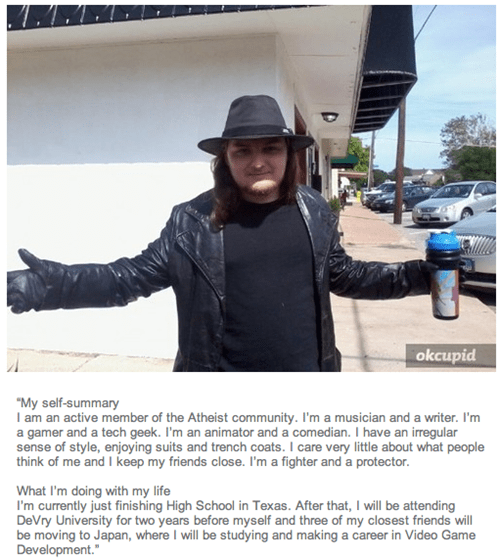 okcupid nice guys neckbeards fedoras dating - 8391492864