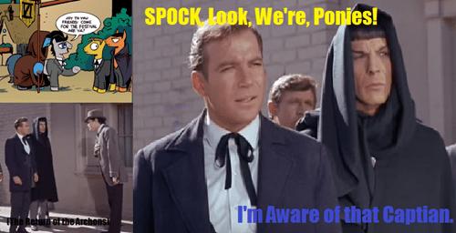 comic books Spock kirk MLP - 8391516160