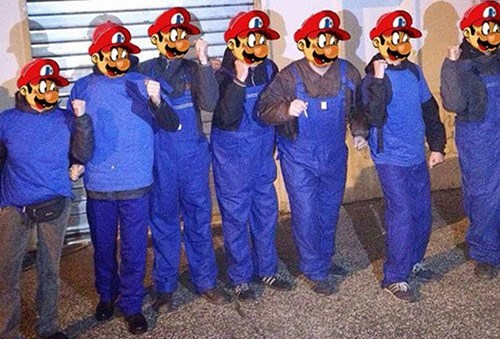 IRL mario Italy video games plumbers water