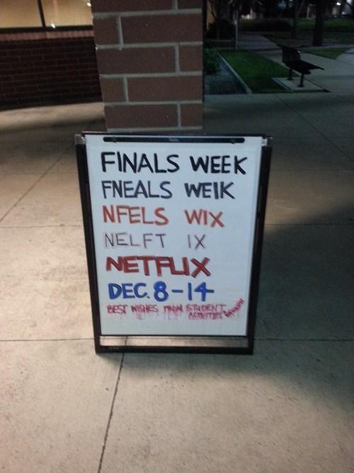 finals,netflix,funny
