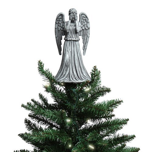 christmas,weeping angels,ornaments,for sale