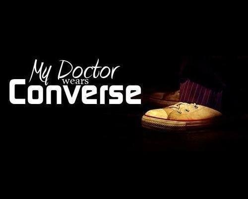 10th doctor converse my doctor - 8392002048