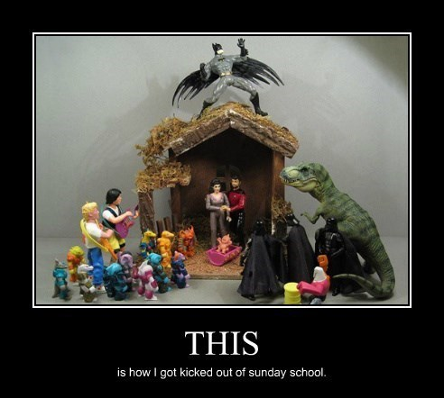 batman,funny,Star Trek,sunday school