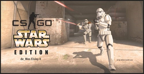 crossover,star wars,counter strike