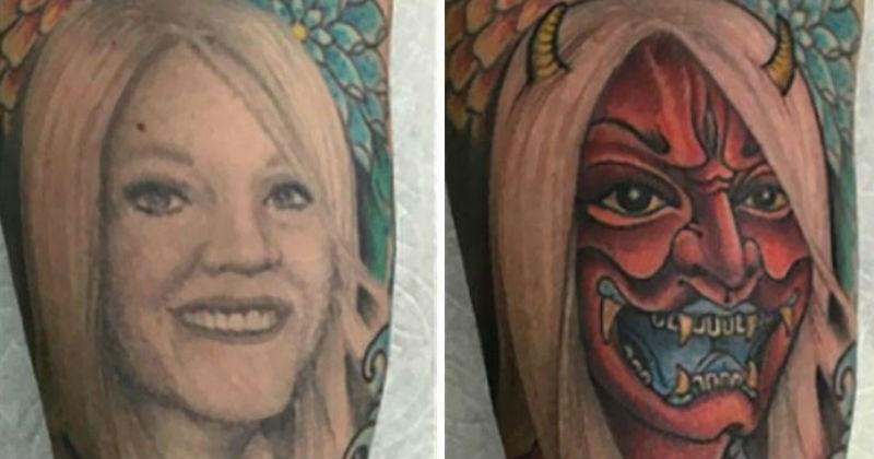 impressive tattoo cover ups, tattoos, talented tattoo artists