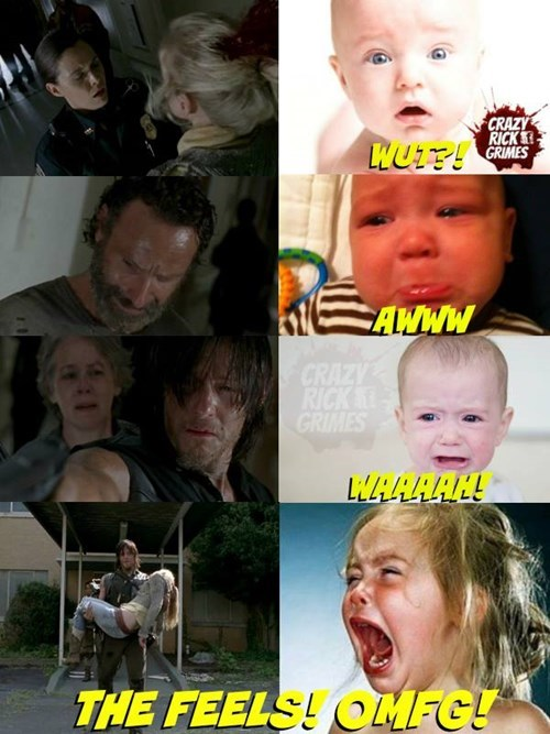 Babies fangirling The Walking Dead - 8392224000