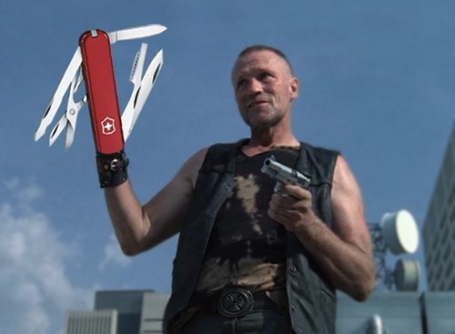 swiss army knife,merle dixon
