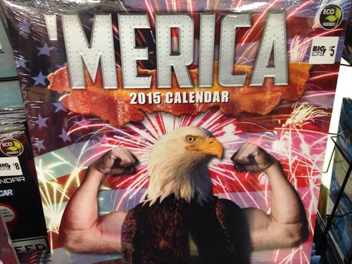 big lots,calendars,eagles,murica
