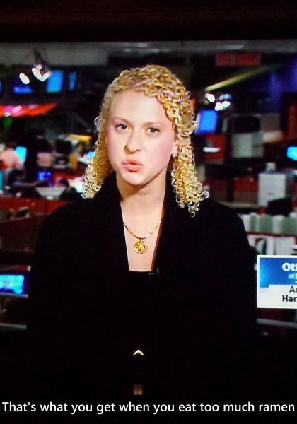 hair,news,ramen,poorly dressed,g  rated