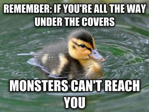 blankets advice animals Memes monster - 8392930048