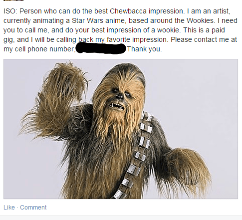 star wars chewbacca - 8392956416