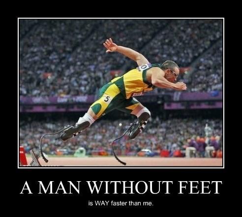 handicapped feet running funny - 8392973568
