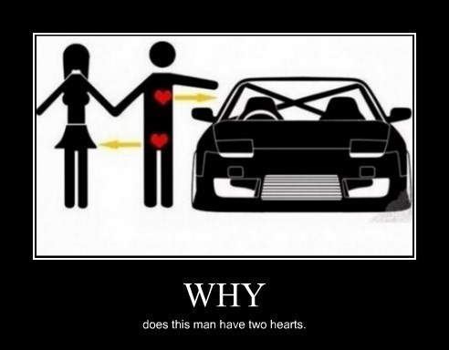 Sexy Ladies heart cars funny - 8392975104