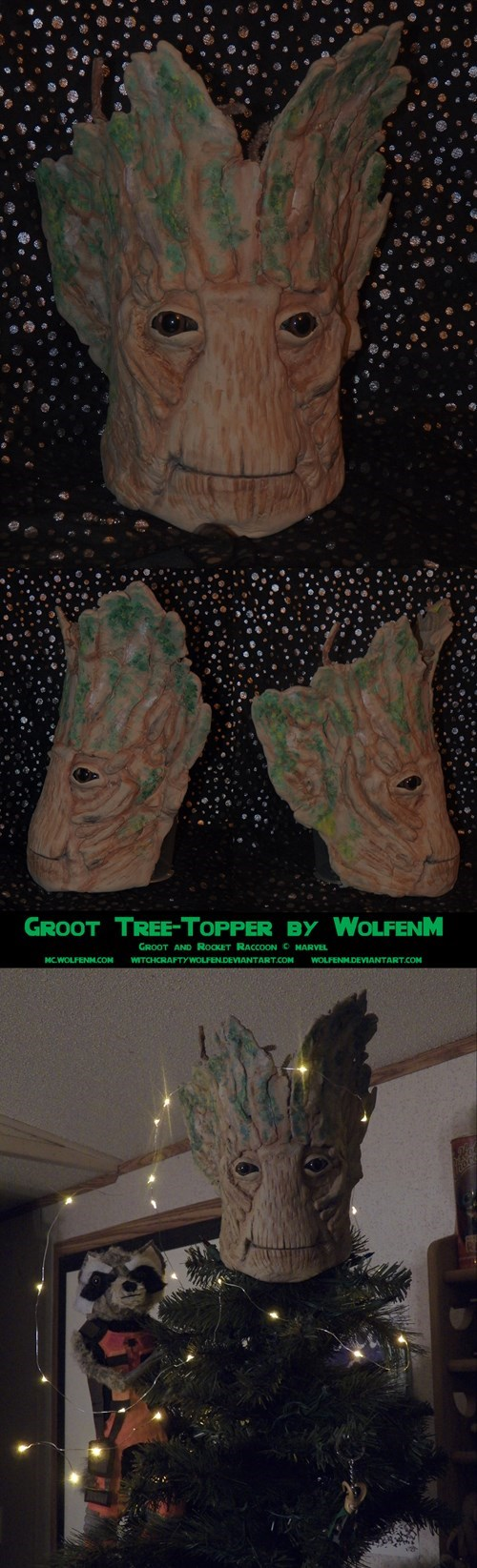 christmas,topper,christmas tree,groot