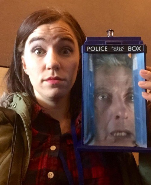 cosplay,tardis,12th Doctor,bigger on the inside,win