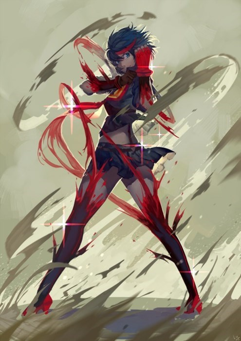 anime Fan Art kill la kill - 8393251584