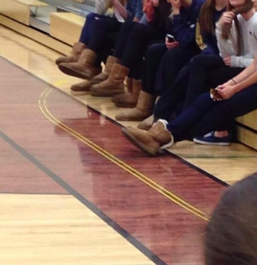 school poorly dressed uggs