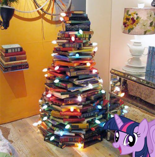christmas christmas tree twilight sparkle books - 8393349888