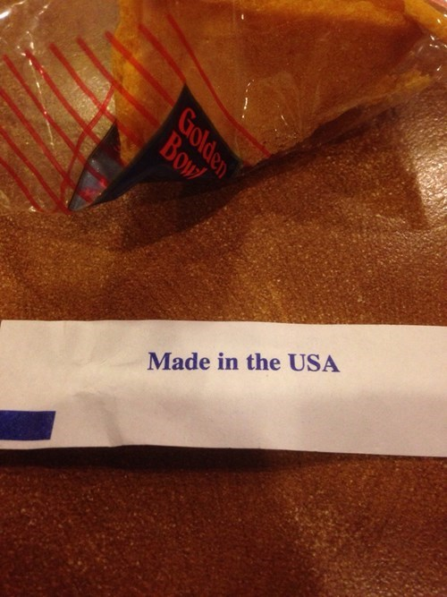 usa fortune cookie funny - 8393370880