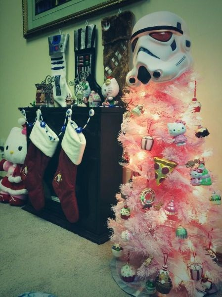 christmas star wars christmas tree nerdgasm - 8393388800
