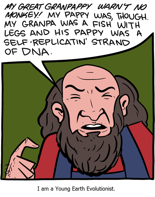 evolution history sad but true science web comics - 8393496832