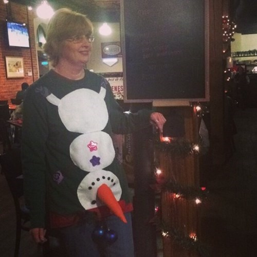 christmas poorly dressed christmas sweaters snowman g rated - 8393840384