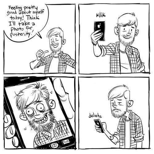 iPhones phone selfie web comics - 8393870592