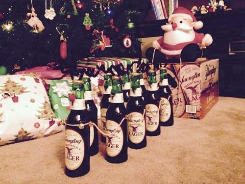 christmas,beer,yuenling,reindeer,funny