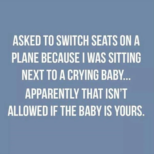 baby parenting Travel crying airplane - 8393907968