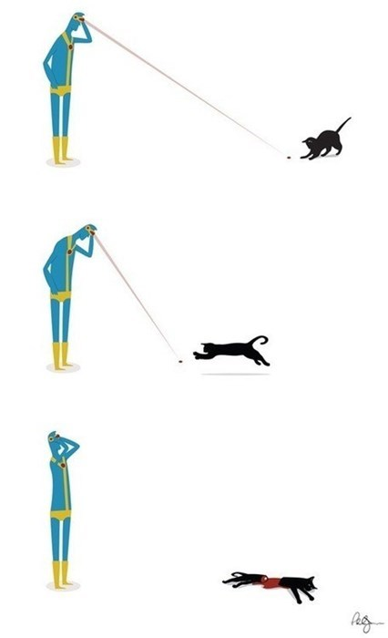 laser pointer cyclops Cats - 8393952512
